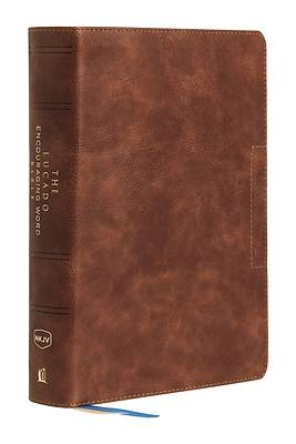 Nkjv, Lucado Encouraging Word Bible, Brown, Leathersoft, Comfort Print