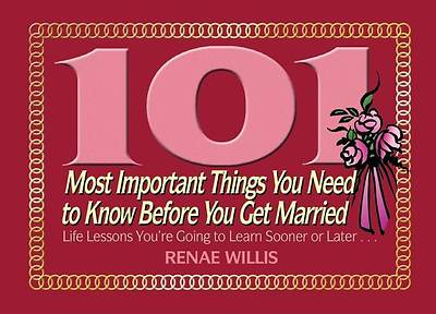 Picture of 101 Most Important Things You Need to Know Before You Get Married