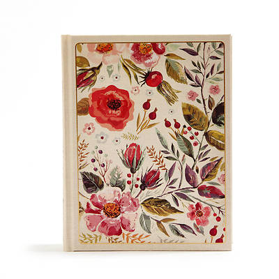 Picture of CSB Notetaking Bible, Floral Cloth-Over-Board