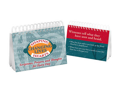 Picture of Shaping Hearts, Changing Lives Flip Book