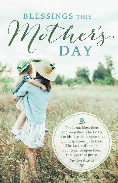 Blessings This Mother's Day Regular Size Bulletin