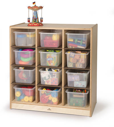 Picture of 12 Cubby Storage Cabinet