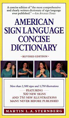 Picture of American Sign Language Concise Dictionary