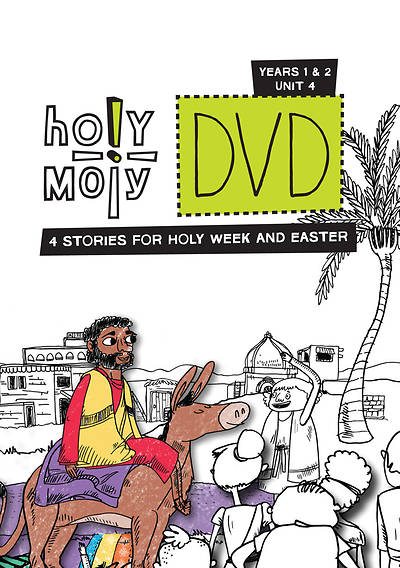 Picture of Holy Moly Grades K-4 DVD Year 1-2 Unit 4