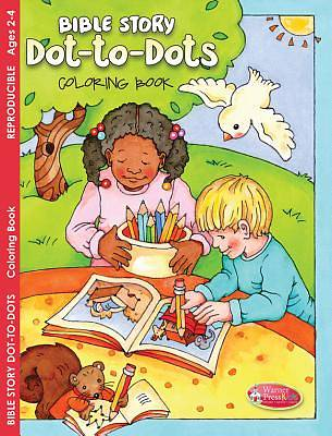 Coloring & Activity Book - Bible Story Dot-To-Dots (2-4)