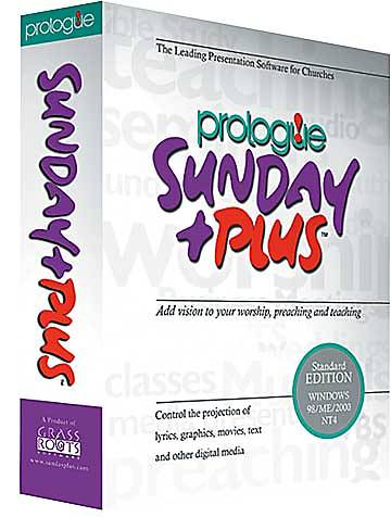 Prologue Sunday Plus Standard Version
