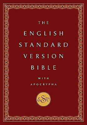 The English Standard Version Bible With Apocrypha