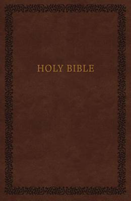 Picture of KJV, Holy Bible, Soft Touch Edition, Imitation Leather, Brown, Comfort Print