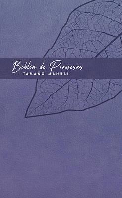 Picture of Biblia de Promesa Tamaño Manual / Piel Especial / Lavanda
