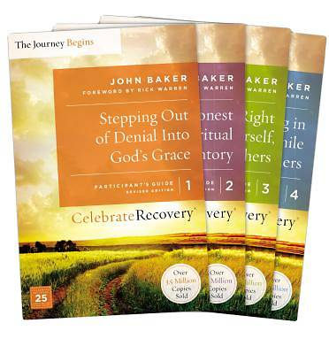 Celebrate Recovery Updated Participants Guide Set, Volumes 1-4