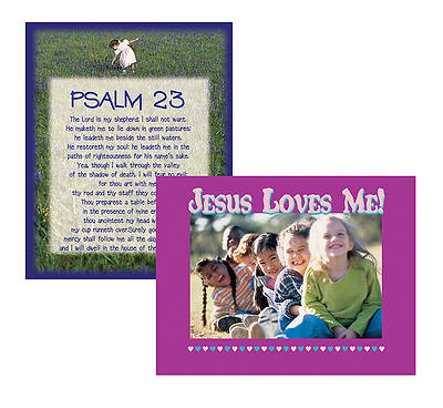 Picture of Psalm 23 & Jesus Loves Me Poster Sets