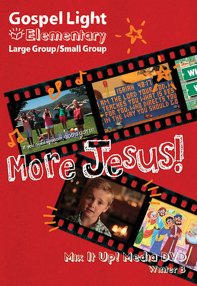 Picture of Gospel Light Large/Small Group Mix it Up DVD Year B Winter