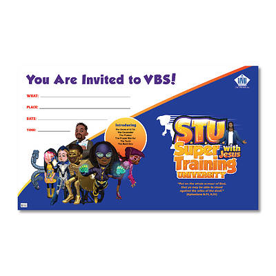 Picture of Vacation Bible School (VBS) 2019 Super Training University Outdoor Banner