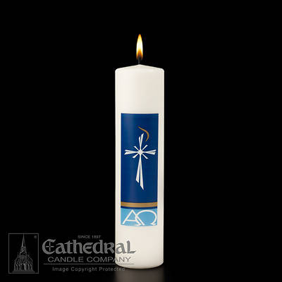 "Radiance Christ Candle 12"" x 3"""
