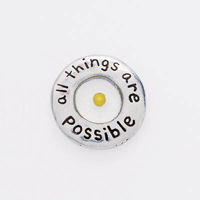 Pewter Lapel Pin - Mustard Seed/All Things Are Possible