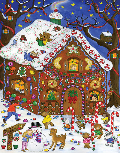 Picture of Gingerbread Fun Advent Calendar