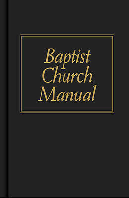 Picture of Baptist Church Manual