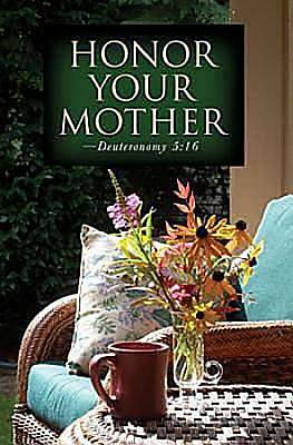 Chair Mothers Day Bulletin 2012, Regular Size (Package of 50)