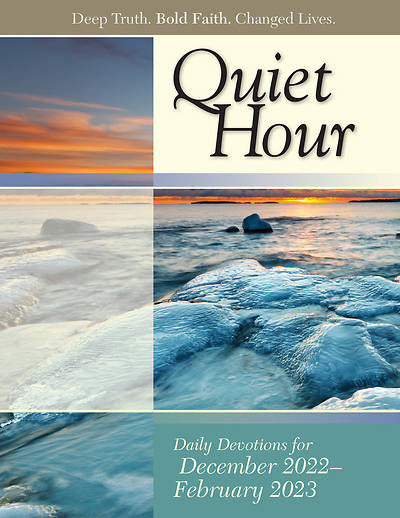 Bible-In-Life The Quiet Hour (Devotional Guide) Winter