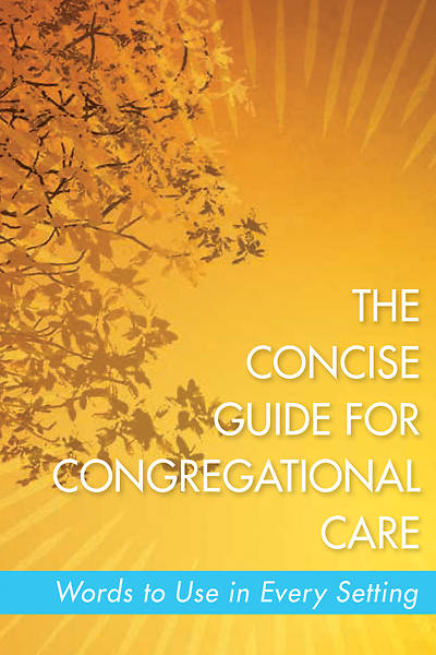Picture of The Concise Guide for Congregational Care