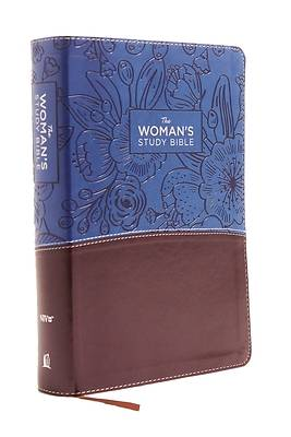 NIV, the Womans Study Bible, Imitation Leather, Blue/Brown, Full-Color