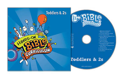 Picture of Hands-On Bible Toddlers & 2 CD Spring 2019