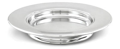 Stacking Bread Plate - Chrome