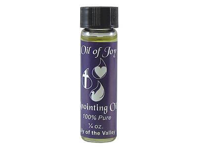 Oil of Joy 1/4 Oz. Lily of Valley Anointing Oil- Pack of 6