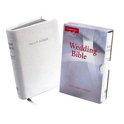 King James Version Wedding Bible