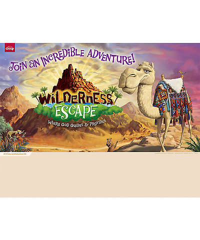 Group VBS 2014 Wilderness Escape Publicity Posters 5pk