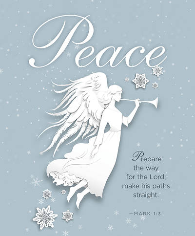 Picture of Peace Paper Art Advent Bulletin, Large (Pkg of 50)
