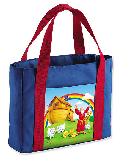 The Beginners Bible My First Church Bag, Noahs Ark, Medium, Canvas