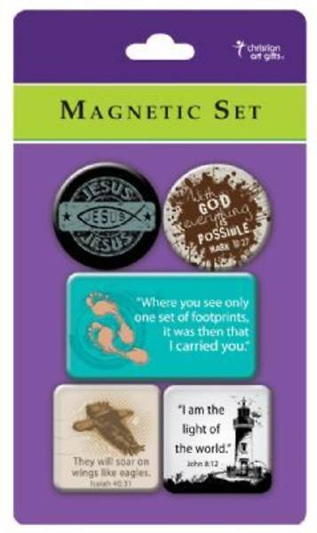 Jesus Magnet Package of 5
