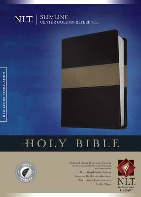 Picture of Slimline Center Column Reference Bible NLT