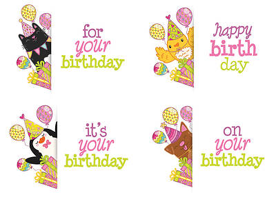 Peek-A-Boo! - Birthday Boxed Cards - Box of 12