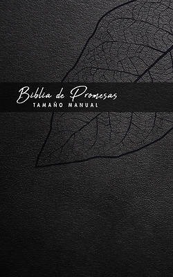Picture of Biblia de Promesa Tamaño Manual / Piel Especial / Negro