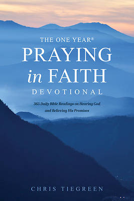 Picture of The One Year Praying in Faith Devotional
