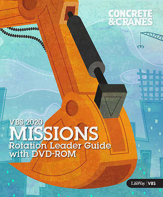 Picture of Vacation Bible School (VBS) 2020 Concrete and Cranes Missions Rot Leader Guide With DVD