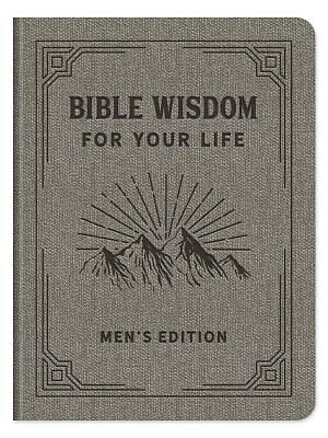 Picture of Bible Wisdom for Your Life Men's Edition