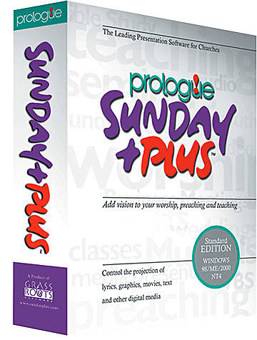 Prologue Sunday Plus Gold Version CD-ROM