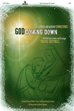 God Coming Down; A Praise and Worship Christmas CD With Paperback Book