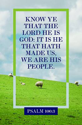 Picture of We Are His People Bulletin (Pkg 100) General Worship