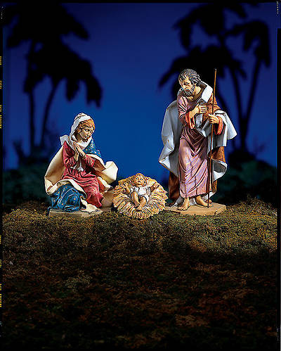 "Picture of Fontanini Nativity - 27"" Scale - 3 piece Holy Family Set"
