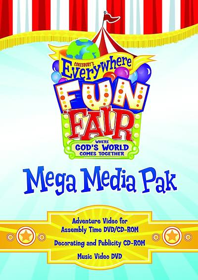 Vacation Bible School 2013 Everywhere Fun Fair Mega Media Pak VBS