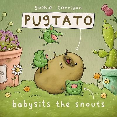 Picture of Pugtato Babysits the Snouts