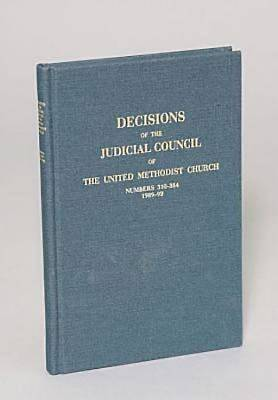 Picture of Decisions of the Judicial Council of The United Methodist Church, 1989-1992, 610-684