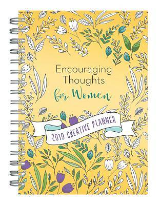 2019 Creative Planner Encouraging Thoughts for Women