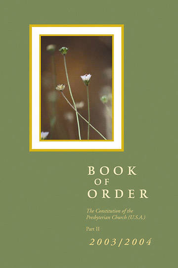 Picture of Presbyterian Book of Order 2004-2005 Korean Edition