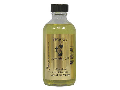 Oil of Joy 4 Oz. Lily of Valley Anointing Oil