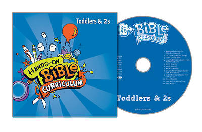 Hands-On Bible Curriculum Toddlers & 2s Extra CD Fall 2017